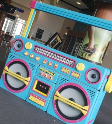 Boom Box DJ Booth